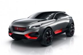 Hot in Paris: Concept Car Peugeot Quartz mit 500 PS starkem Hybridantrieb