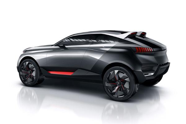 Peugeot Quartz Concept Car