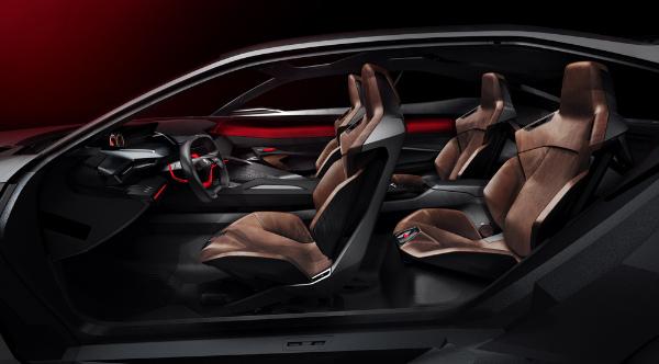 Peugeot Quartz - Innenraum