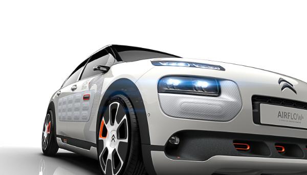 Zwei-Liter-Auto von Citroen