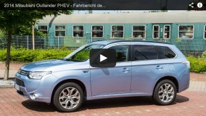 Ausfahrt.tv Fahrbericht zum 2014 Mitsubishi Outlander PHEV