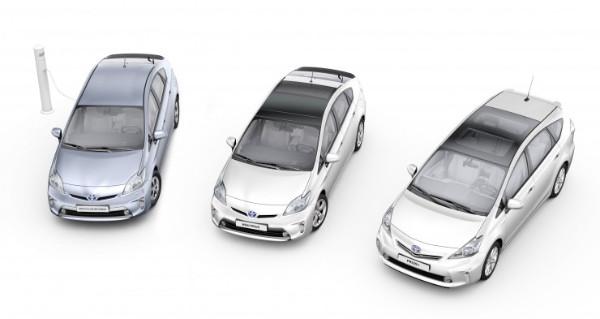 Die Toyota Prius Familie