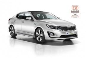 Vierfach-Auszeichnung: Kia Optima Hybrid punktet auf ganzer Linie