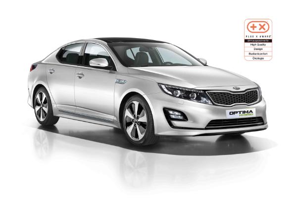 Kia Optima Hybrid mit Plus X Award ausgezeichnet