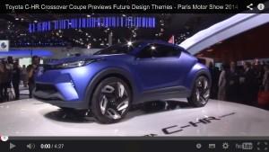 Toyota C-HR Concept: Ein Mix aus RAV4, GT86 und Prius