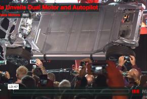 Tesla Model S 85D und 60D mit Dual Motor Drive