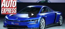 Volkswagen XL Sport  auf dem Pariser Autosalon