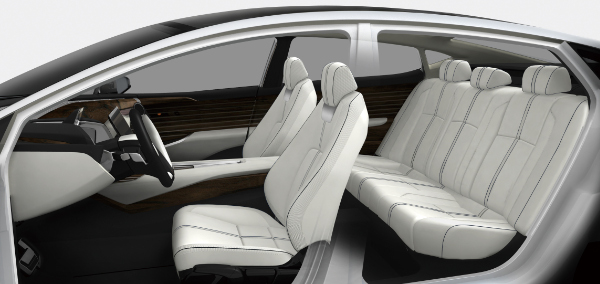 Honda FCV Concept Innenraum