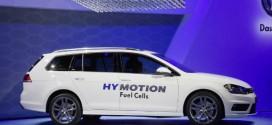 VW Golf Variant HyMotion mit Brennstoffzellenantrieb