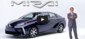 Akio Toyoda stellt den Toyota Mirai vor