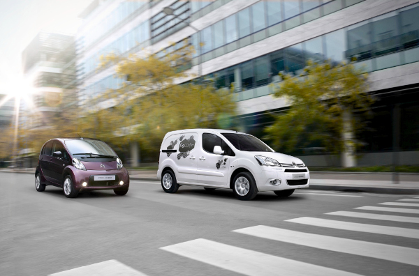 Citroen C-Zero und Berlingo Electric