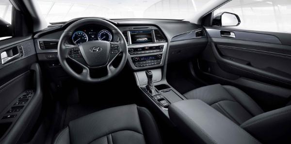 Neuer Hyundai Sonata Hybrid - Innenraum