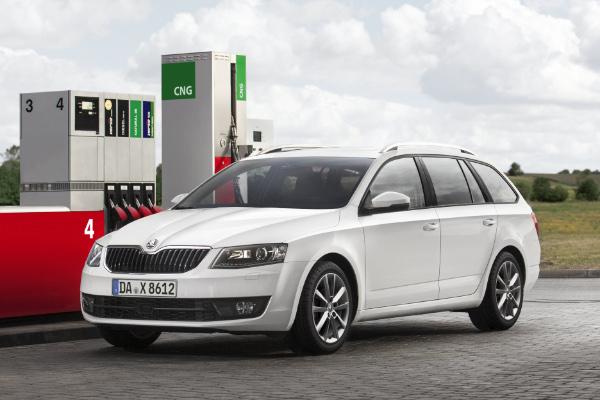 Octavia Combi GTEC mit Erdgasantrieb