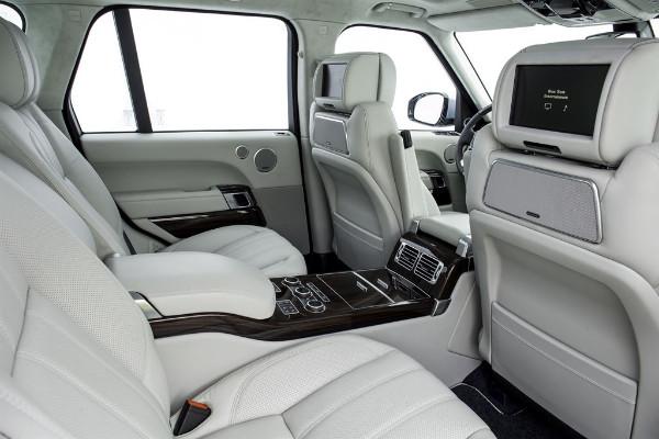 Range Rover Hybrid - Luxuriöser Innenraum