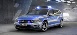 Polizeiauto der Zukunft? Passat GTE Plug-In-Hybrid Studie