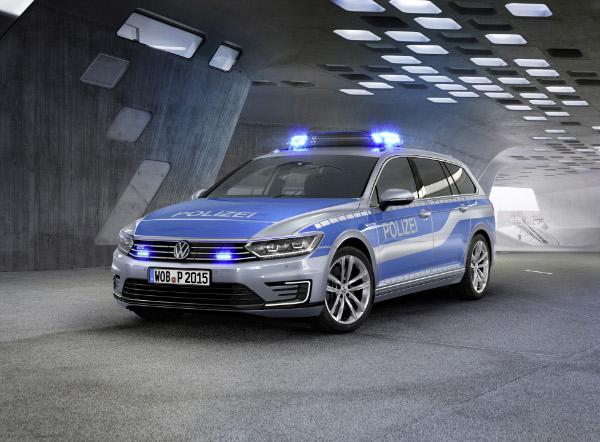 VW Passat GTE Polizeiauto (Studie)