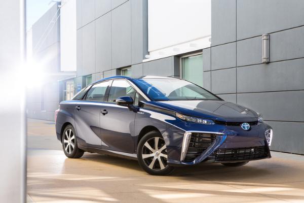 Brennstoffzellenauto Toyota Mirai