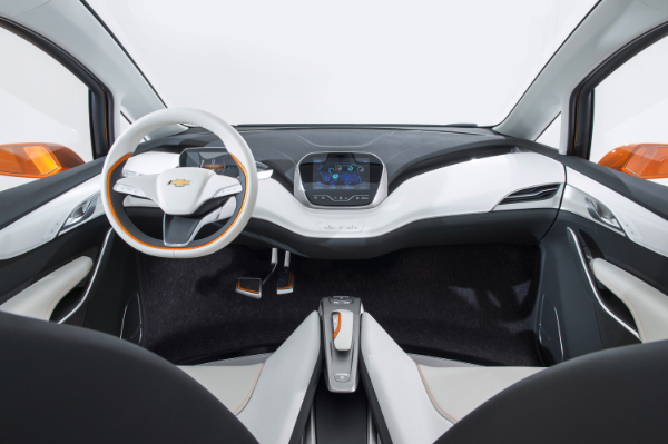 Chevrolet Bolt EV Concept - Innenraum
