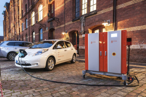 Nissan LEAF am DIVA System