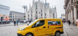 DHL Express in Italien mit 50 elektrischen Nissan e-NV200 unterwegs