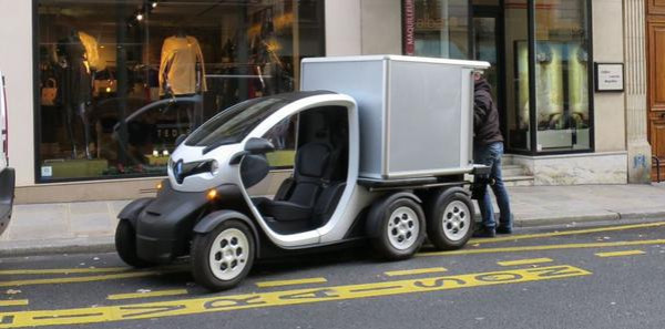 Renault Twizy Delivery Concept