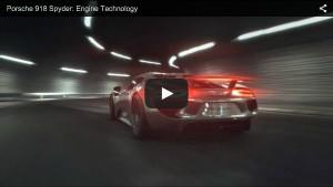Antriebstechnologie des Porsche 918 Spyder
