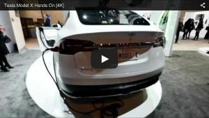 Besichtigung des Tesla Model X