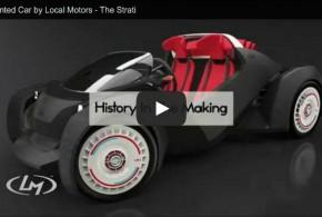 Strati: Das erste Auto aus dem 3D-Drucker fährt elektrisch