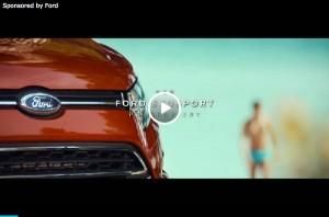 Ford EcoSport: Auch ohne Schlüssel und Hosentasche schnell offen (Sponsored Video)