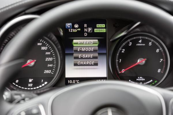 Mercedes-Benz C 350 e - Verschiedene Fahrmodi