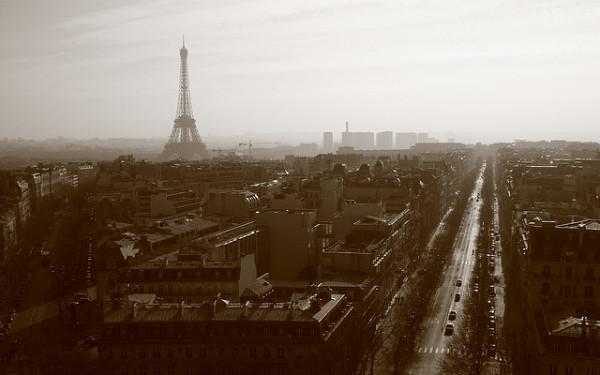 Paris im Smog