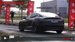 Video: Tesla Model S P85D in Berlin