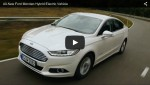Video: Ford Mondeo Hybrid