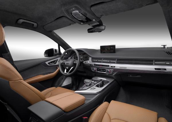 Audi Q7 e-tron quattro - Innenraum
