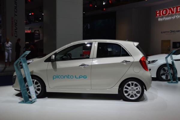 Kia Picanto LPG auf der IAA 2013