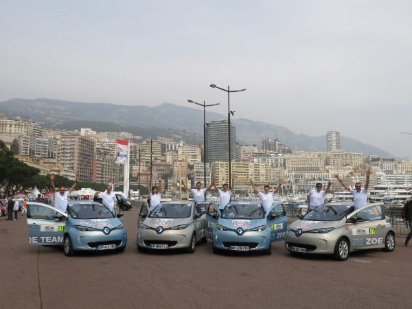 Renault ZOE - Sieger bei der Rallye Monte-Carlo ZENN 2015