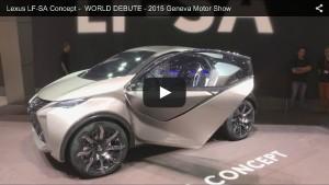 Lexus LF-SA Concept auf dem Genfer Autosalon