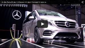 Vorstellung des Mercedes-Benz Concept V-ision e