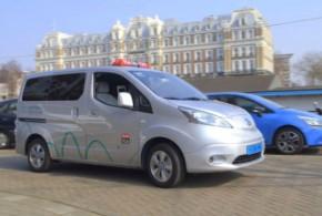 Amsterdam ist die Hauptstadt der Elektrotaxis