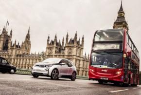 30 BMW i3 elektrisieren die DriveNow Carsharing-Flotte in London