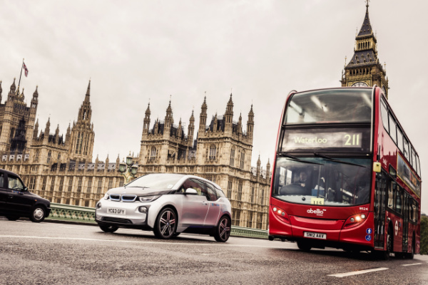 BMW i3 bei DriveNow in London