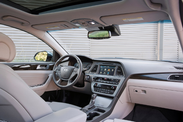 Hyundai Sonata Plug-in Hybrid - Innenraum
