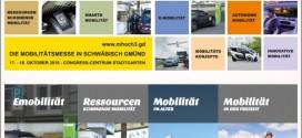 mhoch3 – Mobilitätsmesse in Schwäbisch Gmünd vom 17. – 18. Okt. 2015
