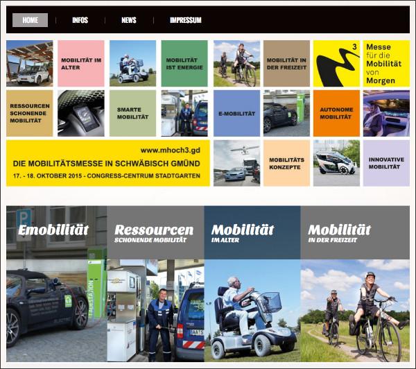 mhoch3 Webseite