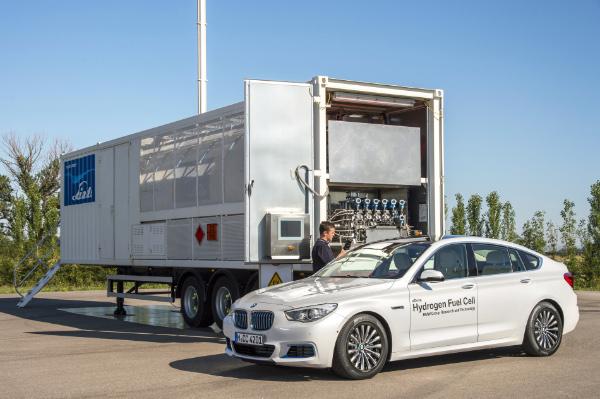 BMW 5er Gran Turismo Hydrogen Fuel Cell