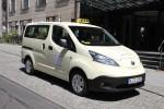 Nissan e-NV200 ist zum Taxi des Jahres 2015 gewählt.