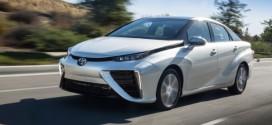 Toyota Mirai ist das Serienmodell mit dem geringsten Wasserstoffverbrauch