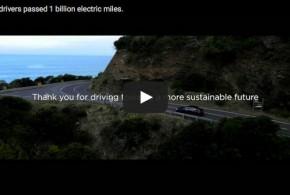 Tesla E-Auto Fahrer haben eine Milliarde Meilen zurückgelegt