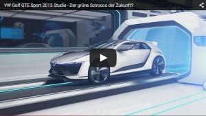 VW Golf GTE Sport: Studie eines grünen PS-Giganten
