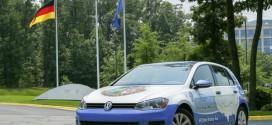 Guinness Welt-Rekord: Golf TDI Clean Diesel durchquert 48 US-Staaten mit niedrigstem Verbrauch